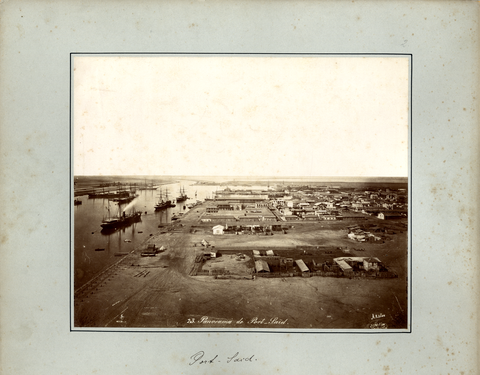 Port Said, Panorama von Arnoux, Hippolyte